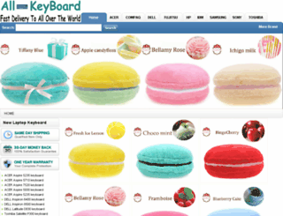 all-keyboard.com screenshot