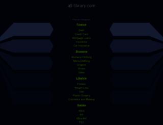 all-library.com screenshot
