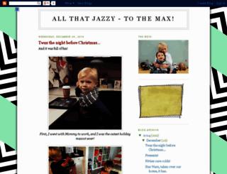 all-that-jazzy.blogspot.com screenshot
