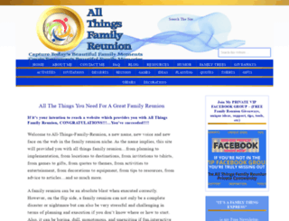 all-things-family-reunion.com screenshot