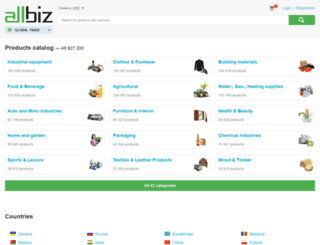 all.biz screenshot