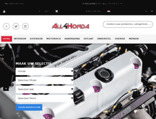 all4honda.com screenshot