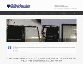 allabout-computers.com screenshot