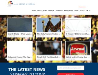 allaboutarsenal.com screenshot