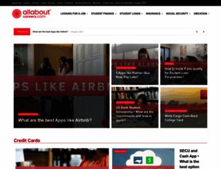 allaboutcareers.com screenshot