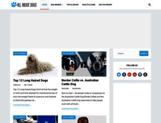 allaboutdogs.net screenshot