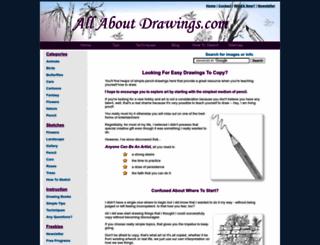 allaboutdrawings.com screenshot