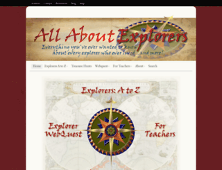 allaboutexplorers.com screenshot