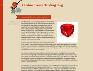 allaboutforextradingblog.wordpress.com screenshot