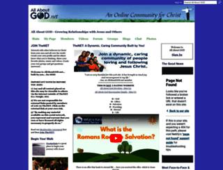 allaboutgod.net screenshot