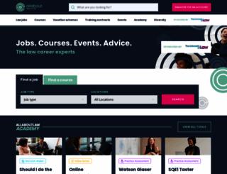 allaboutlaw.co.uk screenshot