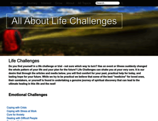 allaboutlifechallenges.org screenshot