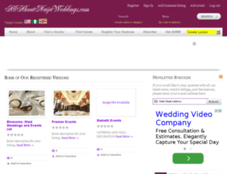 allaboutnaijaweddings.co.uk screenshot