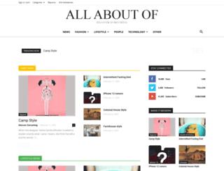 allaboutof.com screenshot