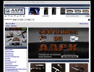 allaboutpocketknives.com screenshot
