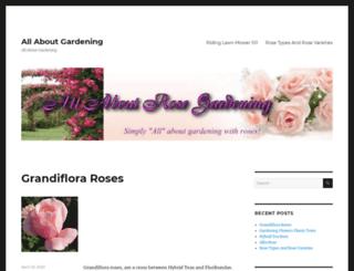allaboutrosegardening.com screenshot