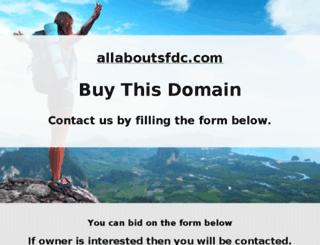 allaboutsfdc.com screenshot