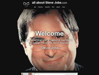 allaboutstevejobs.com screenshot