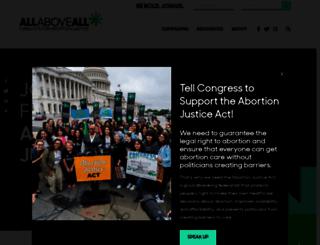 allaboveall.org screenshot
