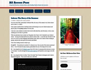 allaccesspassblog.com screenshot