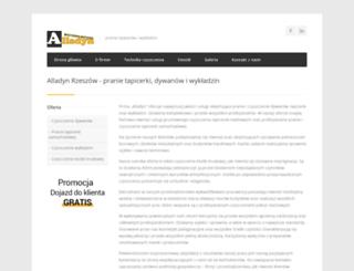 alladyn.rzeszow.pl screenshot