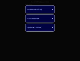 allahabadbank.com screenshot