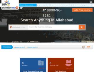 allahabadweb.in screenshot