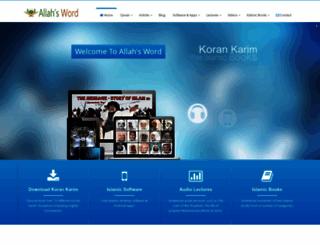 allahsword.com screenshot