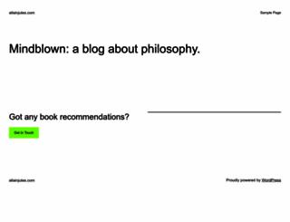 allainjules.com screenshot