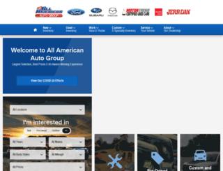 allamericanautosalesgroup.com screenshot