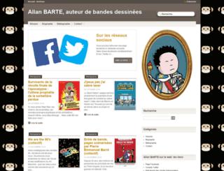 allanbarte.com screenshot