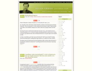 allangregg.com screenshot