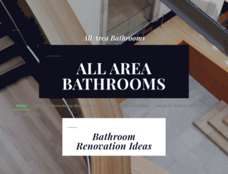 allareabathrooms.com.au screenshot