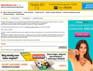 allasoktatas.net screenshot