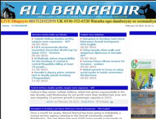 allbanadir.co screenshot