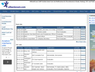 allbankexam.com screenshot