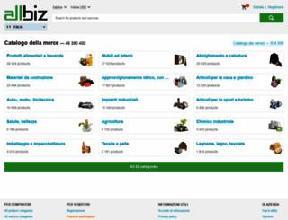 allbiz.it screenshot