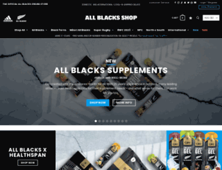 allblackshop.com screenshot