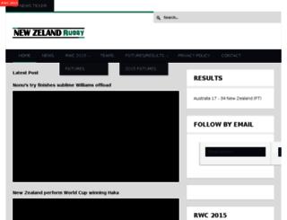 allblacksrugby.co.nz screenshot
