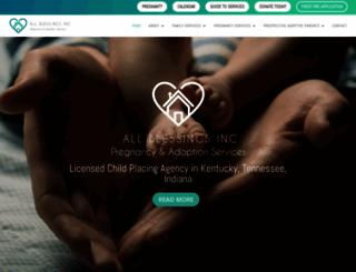 allblessings.org screenshot