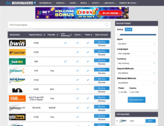 allbookmakers.com screenshot