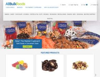 allbulkfoods.com screenshot