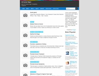allcancersigns.blogspot.com screenshot