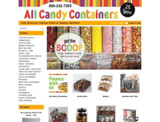 allcandycontainers.com screenshot