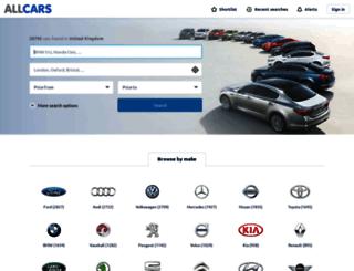 allcars.co.uk screenshot