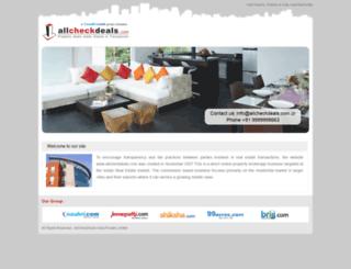 allcheckdeals.com screenshot