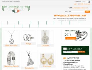 allcladdagh.com screenshot