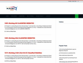 allclassifiedwebsites.blogspot.com screenshot