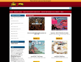 allcomicbooks.us screenshot