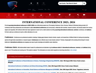 allconferencealert.com screenshot